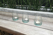 Load image into Gallery viewer, Shop Eco-friendly Home Decor: Recycled Glass Candle Holders