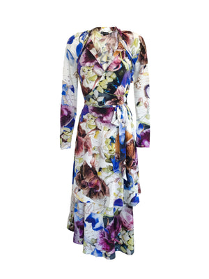 The Wrap Dress in Flower