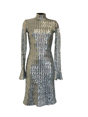 The Silver Sparkle Dress