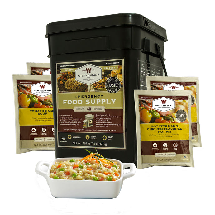 Entree Only Grab&Go Bucket Serving