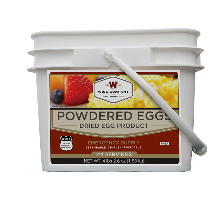 Powdered Eggs In A Bucket 144 Servings