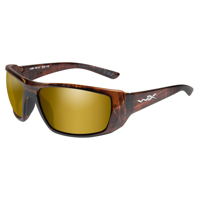 Polarized Gold-gls Hickory Brown Frm