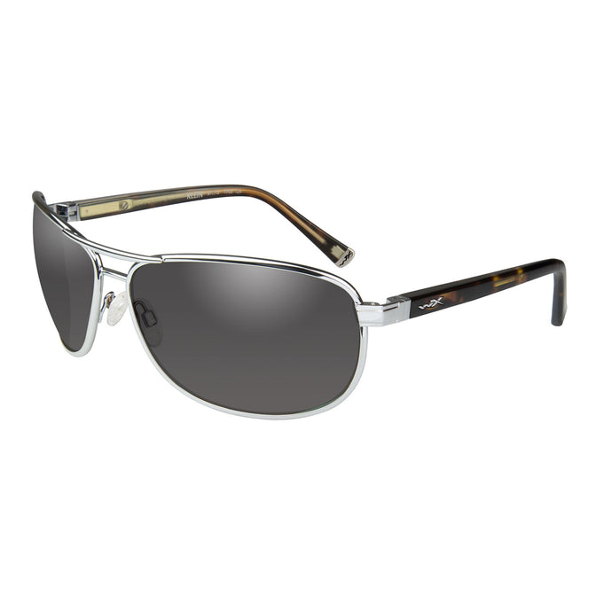 Smoke Grey -silver Frame