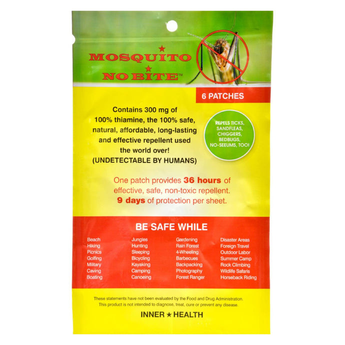 Inner Health Mosquito No Bite - 6 Pack