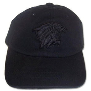Northwestern Wildcats Black On Black Youth Hat