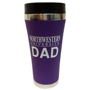 Northwestern Wildcats Dad Travel Tumbler