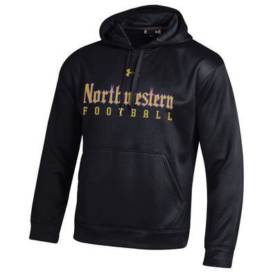 Northwestern Wildcats Under Armour Gothic Football Hood