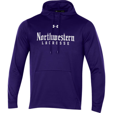 Northwestern Wildcats Under Armour Purple Lacrosse Gothic Hood