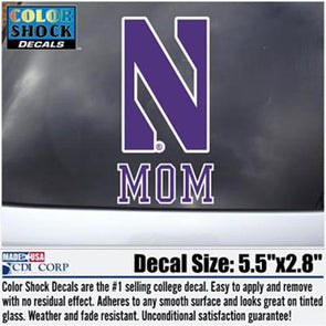 Northwestern Wildcats Mom Decal