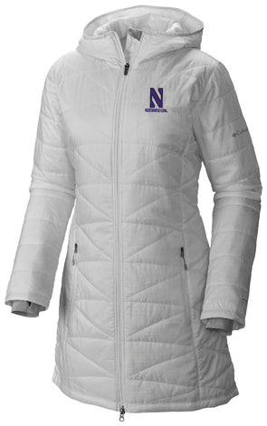 Northwestern Wildcats Ladies Stadium Jacket