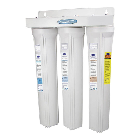 Crystal Quest SMART Slimline Whole House Water Filters - CQE-WH-01103C Crystal Quest