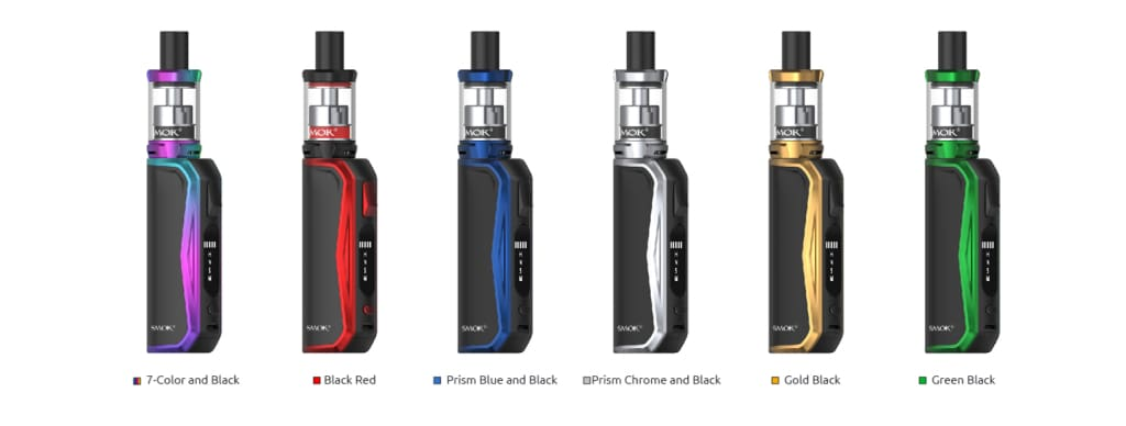 Smok Priv N19 Kit 7-Color and Black