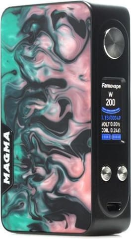 Famovape Magma Mod Black Super Hero