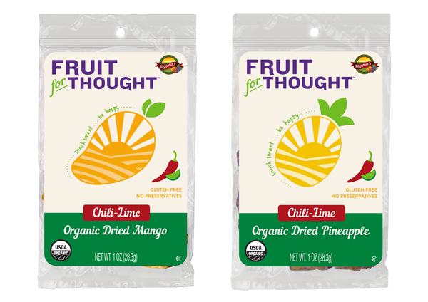 Organic Chili-Lime Mango & Pineapple Snacks