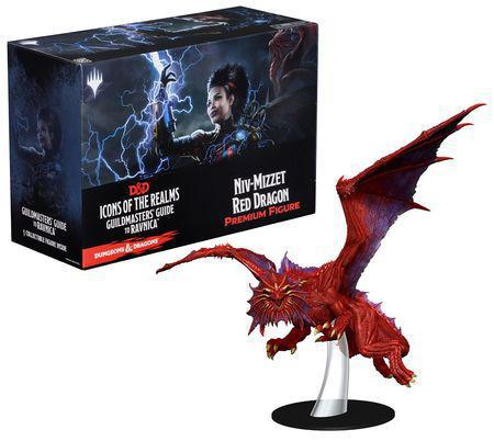 D&D Niv-Mizzet Red Dragon Premium Figure