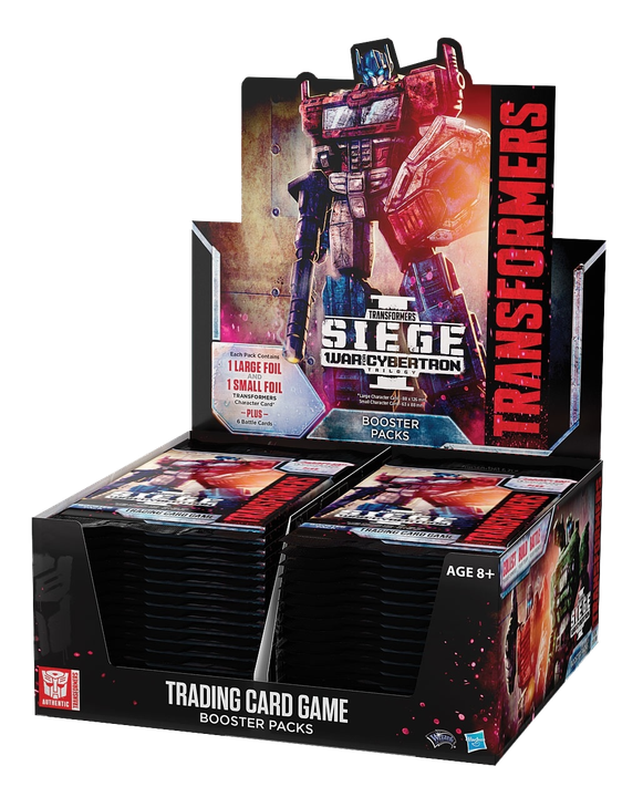 Transformers TCG: War for Cybertron - Siege Booster box