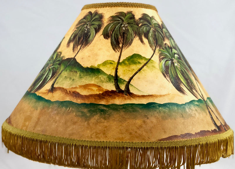 Windy Palm 18 Inch Tall Lampshade