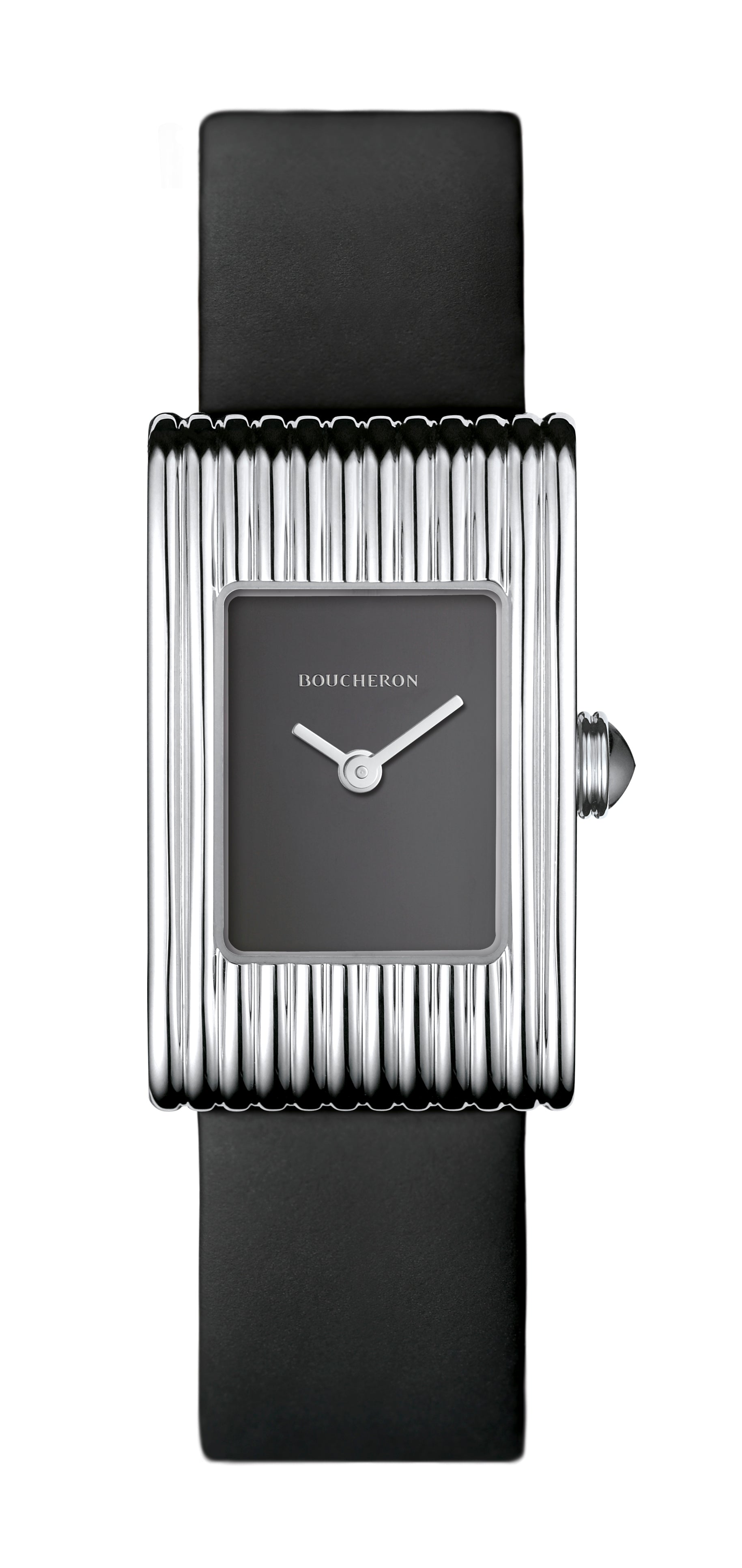 Boucheron Reflet Small med sort urskive