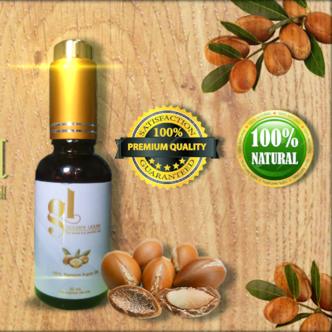 Golden Liquid Argan Oil (Beauty Serum)