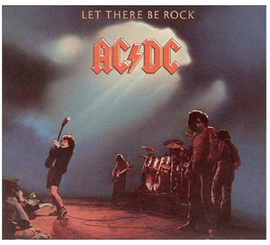 AC/DC ‎– Let There Be Rock - Reissue, Remastered, 180 Gram - Flashlight Vinyl - Turntable Music