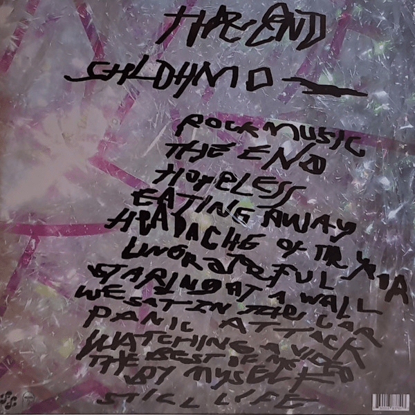 Shlohmo ‎– The End - Double LP