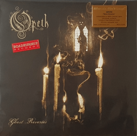 Opeth ‎– Ghost Reveries - Transparent with Black Smoke - Flashlight Vinyl - Turntable Music