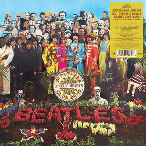 The Beatles ‎– Sgt. Pepper's Lonely Hearts Club Band - Flashlight Vinyl - Turntable Music