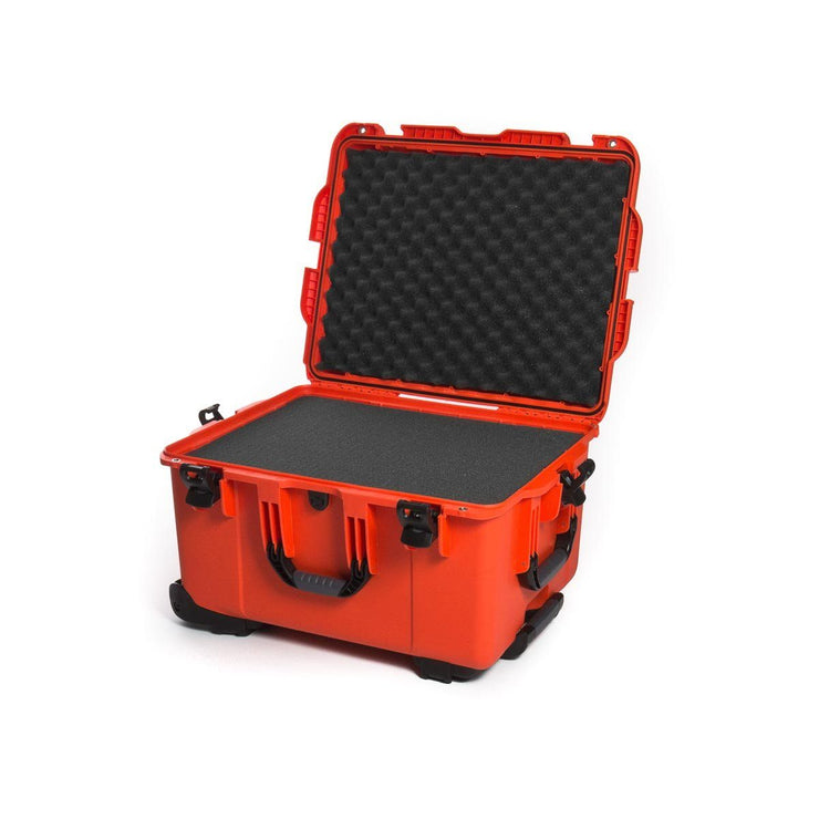 Nanuk 960 in Orange with Cubed Foams