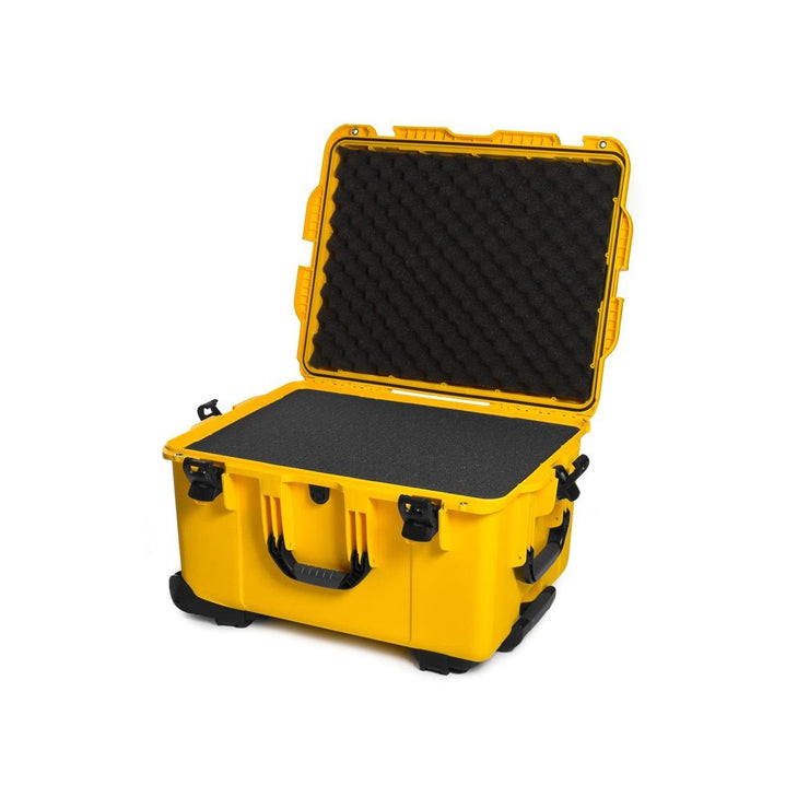 Nanuk 960 in Yellow with Cubed Foams