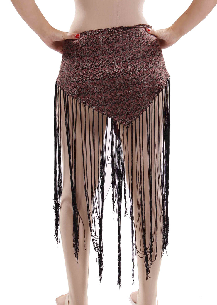 Belly Dance Tribal Fringe Hip Wrap | FIXATED