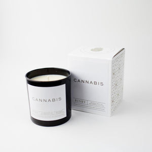Bisby Natural Soy Candle : The Cannabis Candle