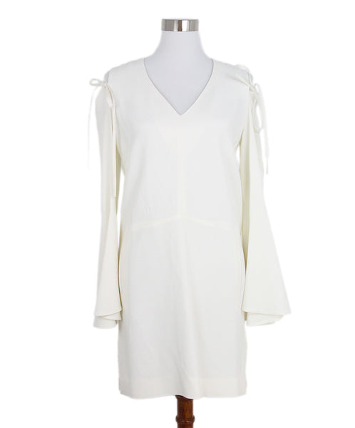 Derek Lam Open Shoulder Ivory Dress 1