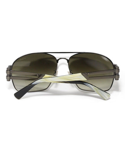 Lanvin Brown Lens Horn Sunglasses 1