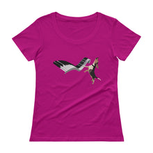 Load image into Gallery viewer, NEW Ladies' Scoopneck T-Shirt