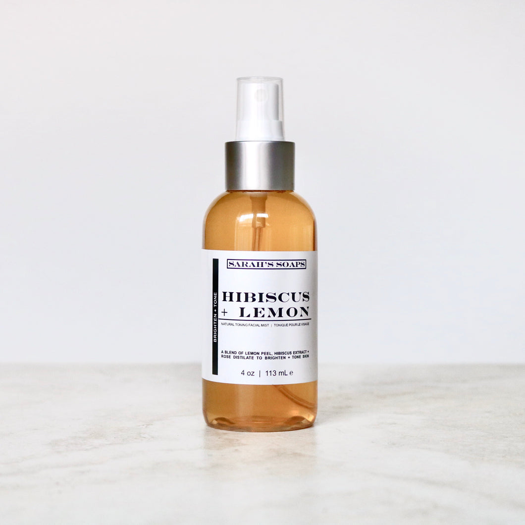 HIBISCUS + LEMON - facial toning mist