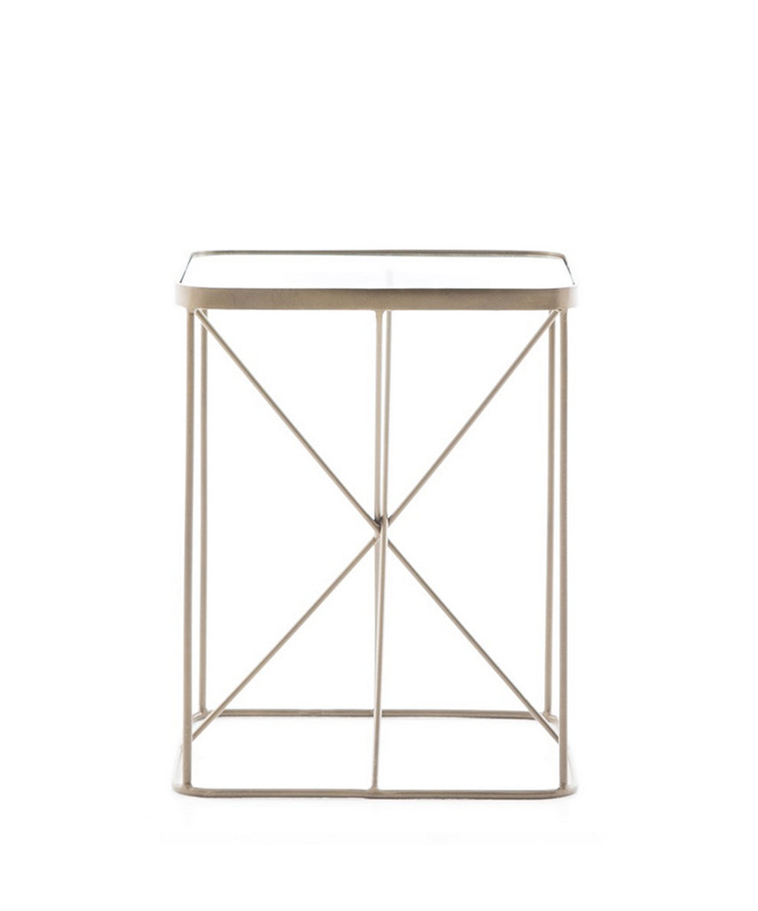 Star Side Table, Brass
