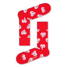 Happy Socks Smiley Heart Red
