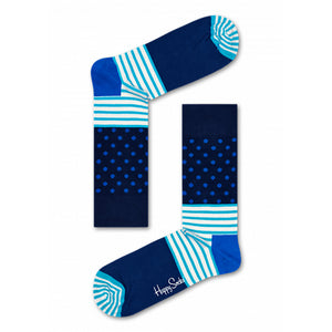 Happy Socks Stripes & Dots Navy