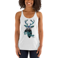 Wild and Free Racerback - Daybreak Apparel Company