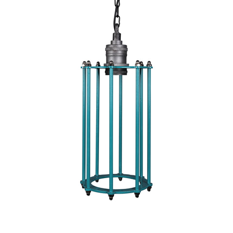 Vintage Industrial Cage Light
