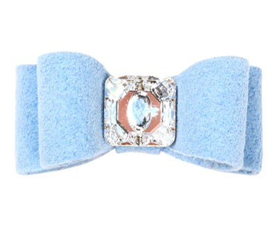 Square Crystal Dog Bow