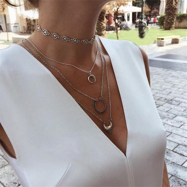 19Style Boho Necklaces for Women