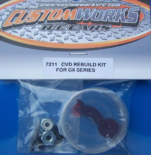 7211 Custom Works CVD Rebuild Kit