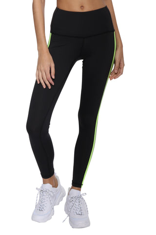 CHRLDR Tuxedo Side Panel Leggings