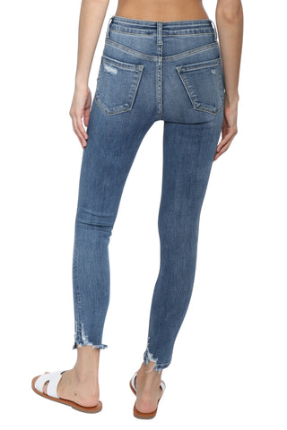 Flying Monkey High Rise Crop Skinny Jeans
