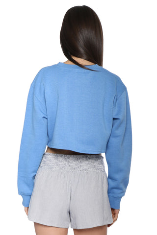 Sunday Stevens Cali Cropped Sweatshirt
