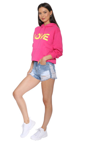 JET x Mixology Love Neon Sweatshirt