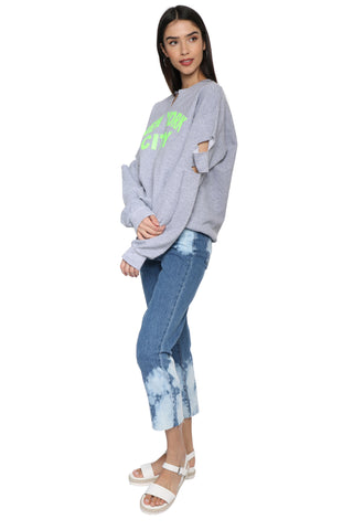 JET x Mixology Neon New York City Sweatshirt