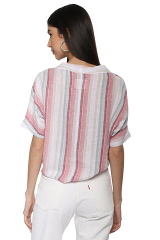 Rails Thea Blouse - Tropics Stripe