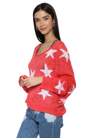 Sunday Stevens Stars Sweater